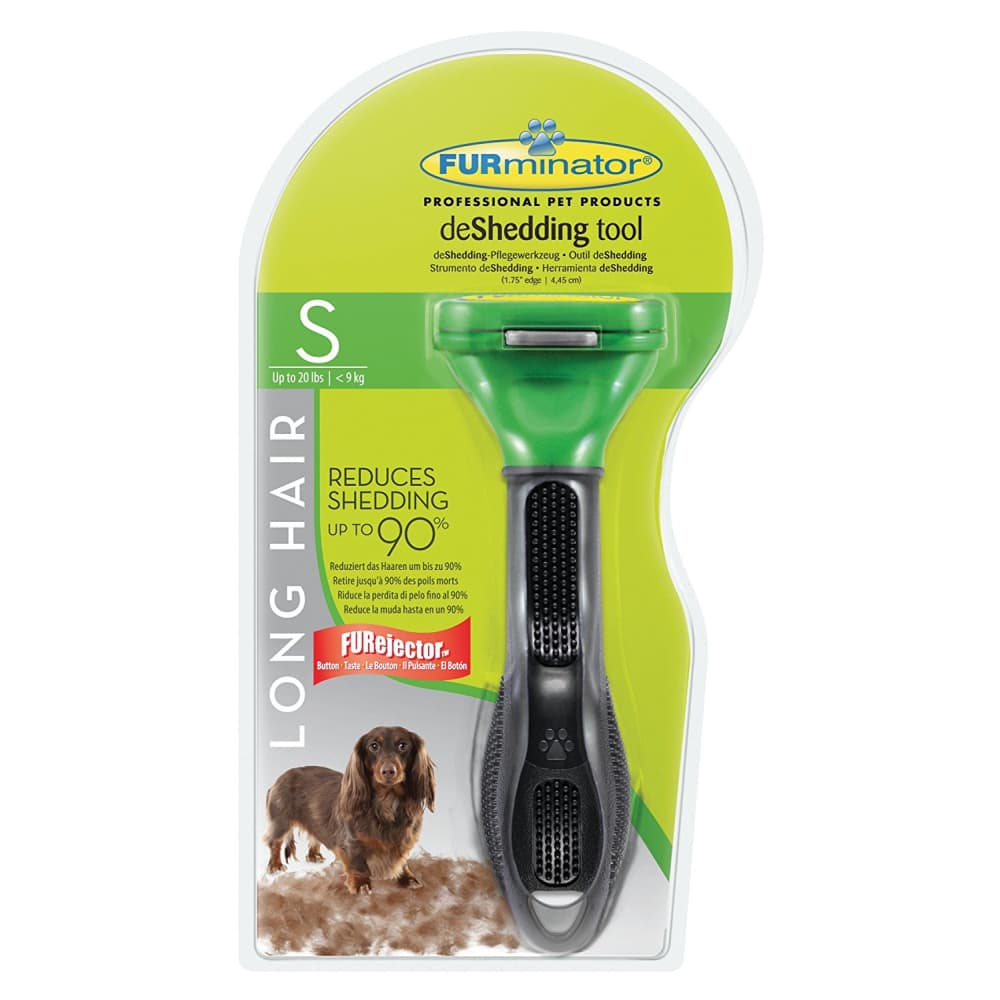 Furminator - Deshedder Long Hair Dog, Small