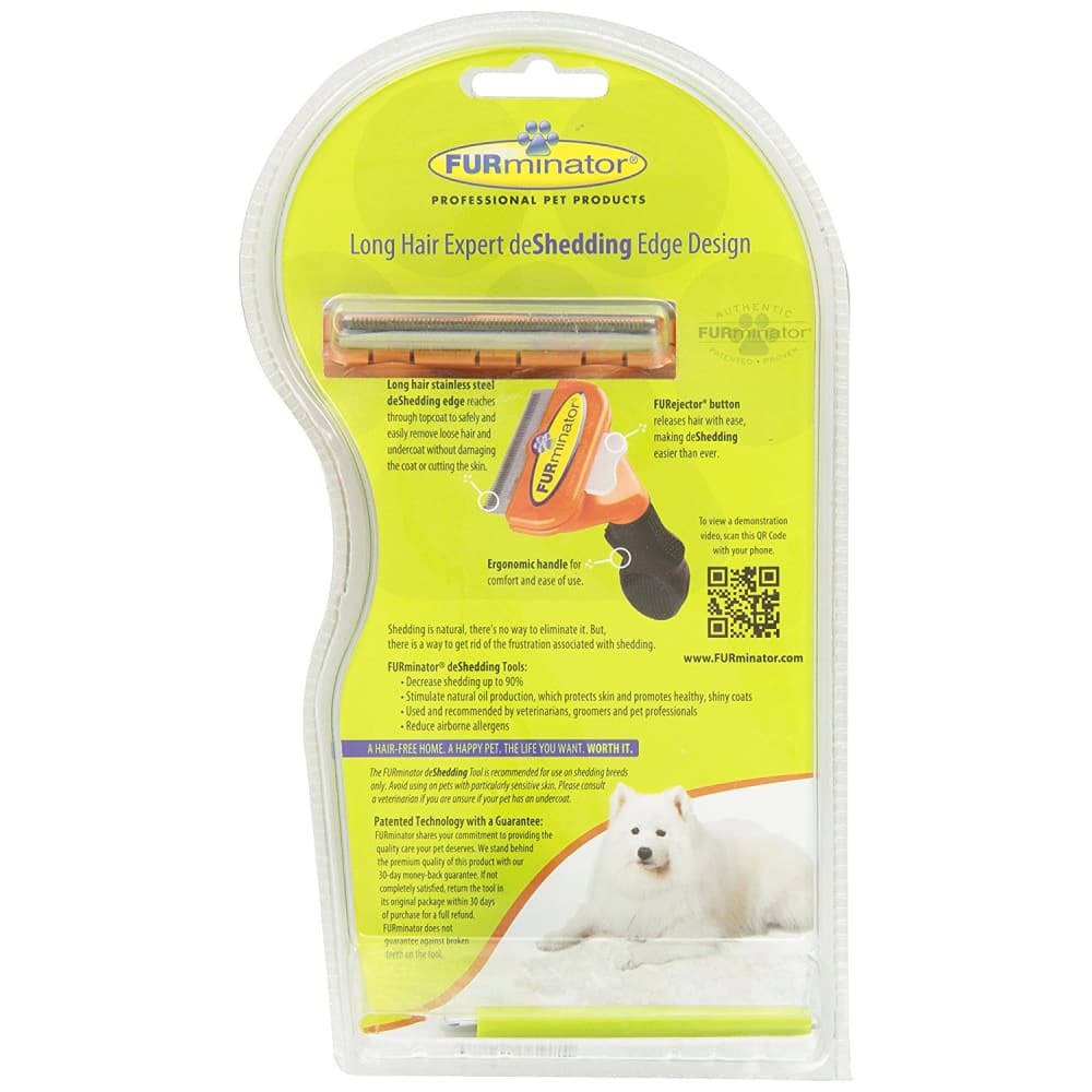 Furminator - Deshedder Long Hair Dog, Medium