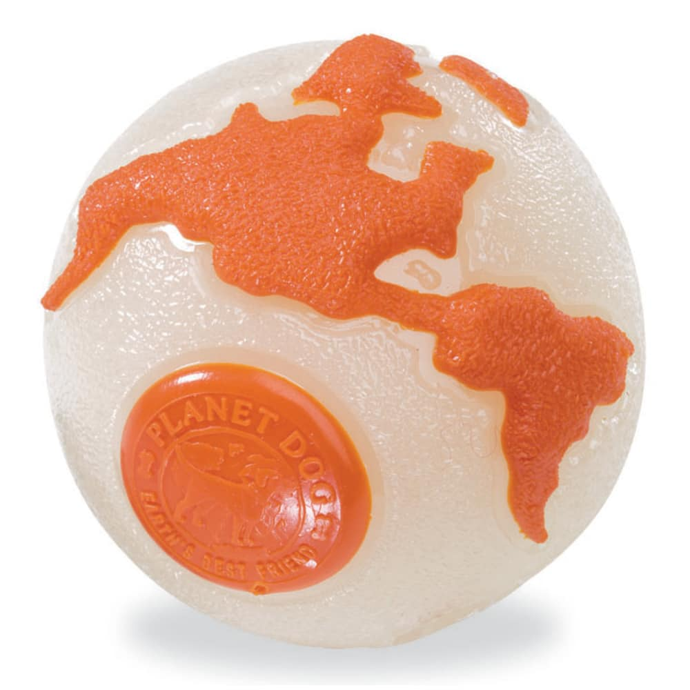 Planet Dog - Orbee Ball Glow/Orange, Medium