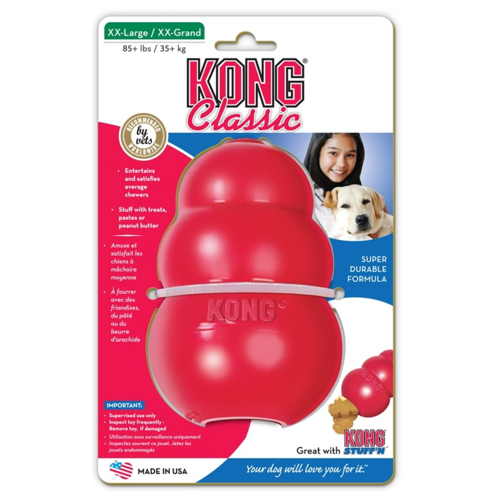 Kong - Classic Red Dog Toy