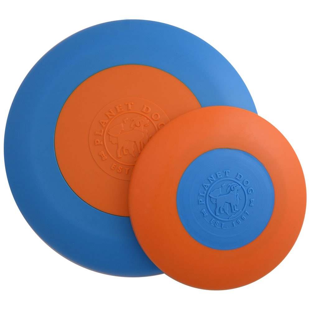 Planet Dog - Orbee-Tuff Zoom Flyer Orange/Blue 6.5""
