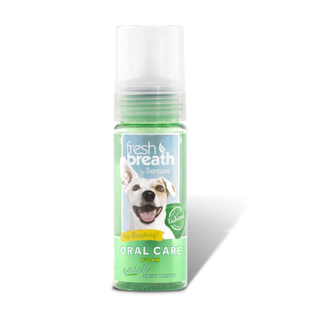 Tropiclean - Fresh Breath Oral Care Foam