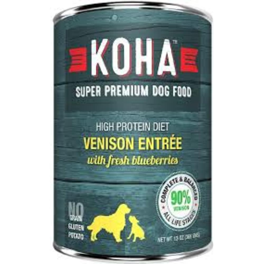 Koha - High Protein Limited Ingredient Diet Venison Entree Canned Dog