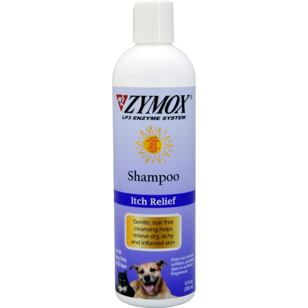 Zymox - Itch Relief Enzyme Shampoo With Vitamin D3, 12oz