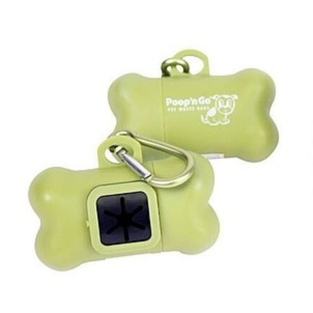 GoGo - Poop N Go Poop Bag Dispenser, Green