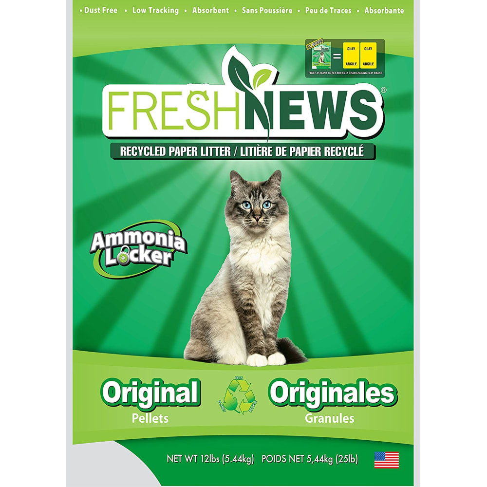 Fresh News - Cat Newspaper Pellet Litter