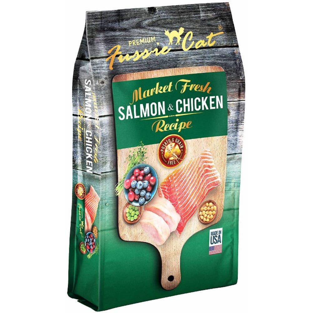 Fussie Cat - Market Fresh Salmon & Chicken Recipe Dry Cat Food