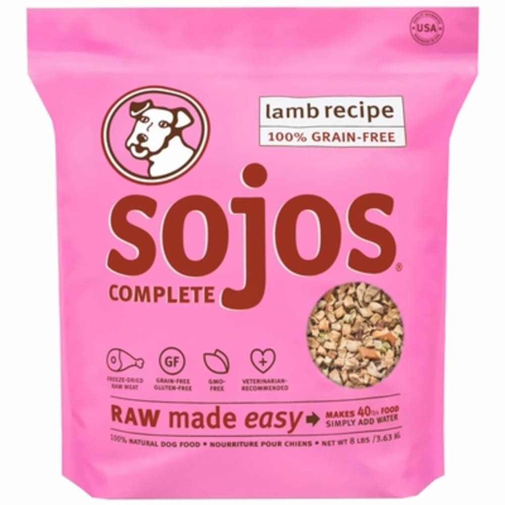 Sojos - Complete Lamb Recipe Dehydrated Dog Food