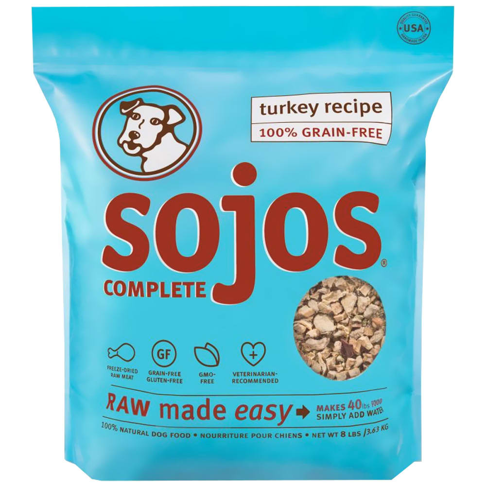Sojos - Complete Turkey Recipe Dehydrated Dog Food