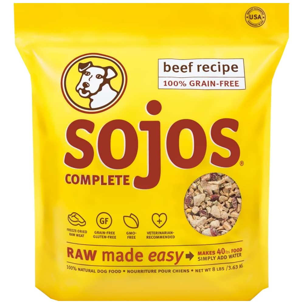 Sojos - Complete Beef Recipe Dehydrated Dog Food