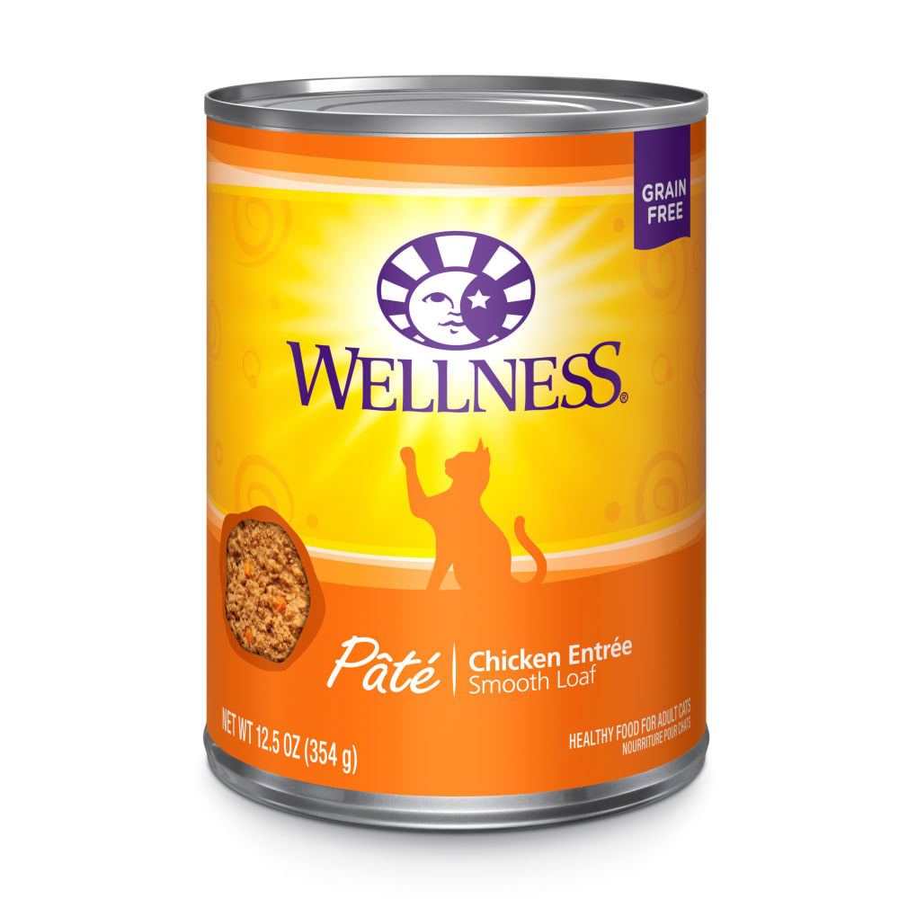 Wellness - Chicken Entree Grain-Free Canned Cat Food