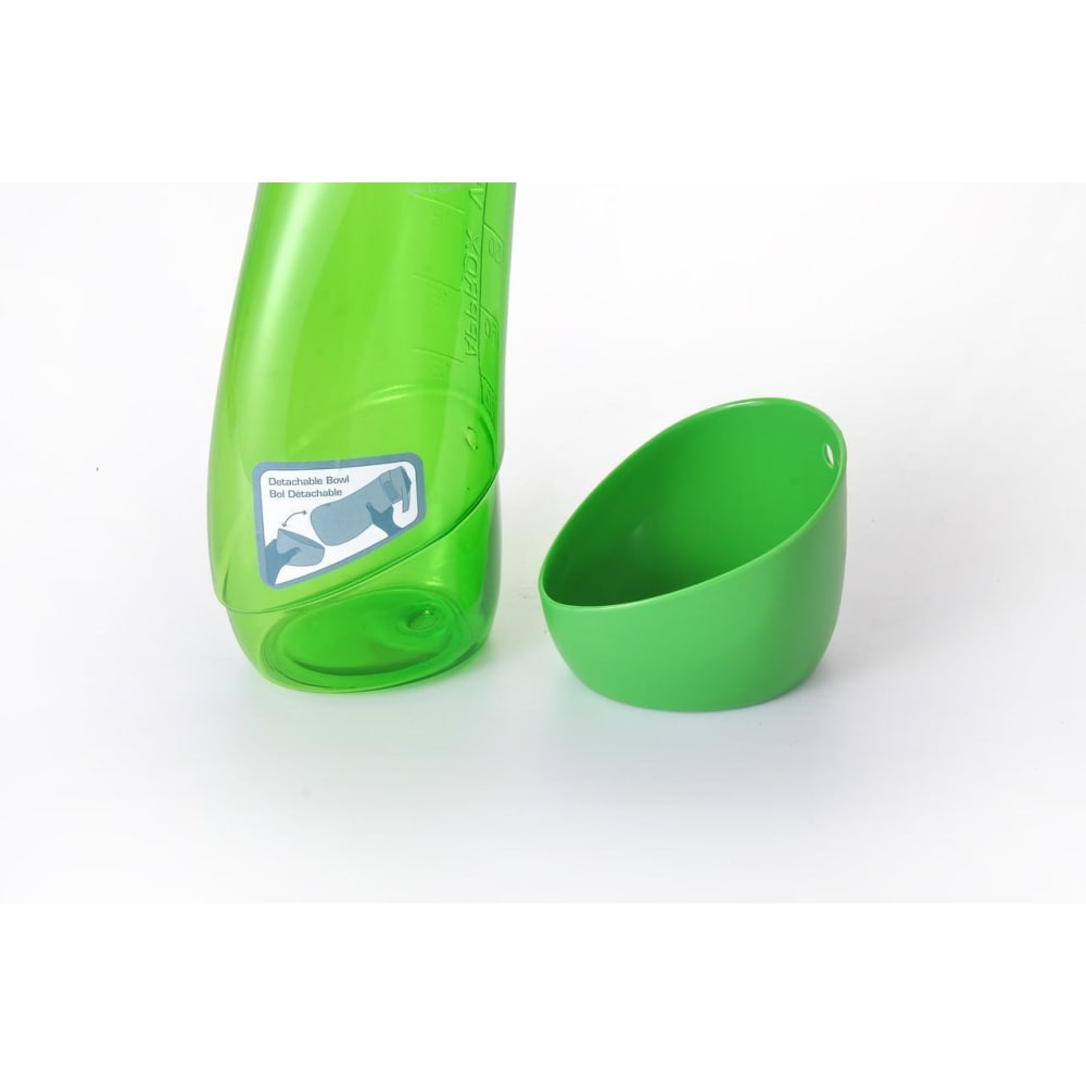 Kurgo - Gourd Water Bottle & Bowl - Green