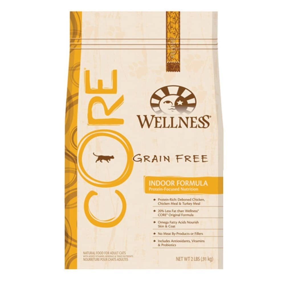 Wellness - Core Grain-Free Indoor Formula Dry Cat Food, 2lbs