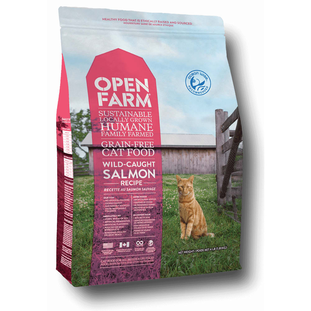 Open Farm - Wild Caught Grain Free Salmon Recipe Dry Cat Food