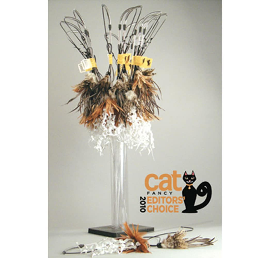 VEE Enterprises - PURRfect Crunchy Feather Cat Toy