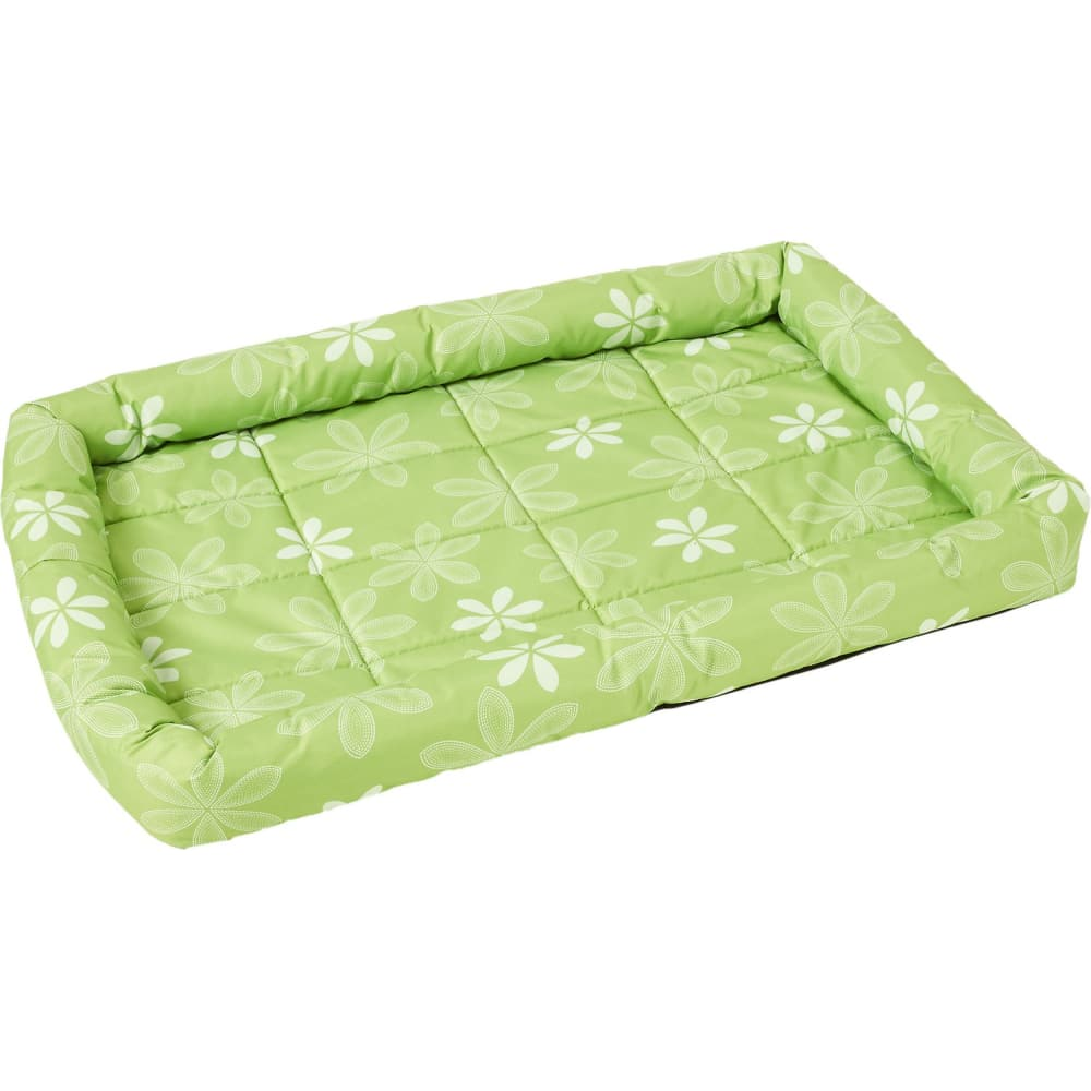 Midwest Metals -  Quiet Time Floral Green 36""
