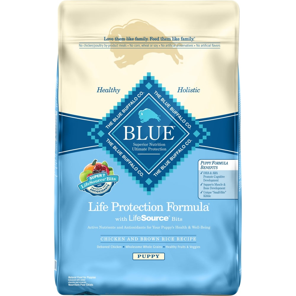 Blue Buffalo - Life Protection Formula Puppy Chicken & Brown Rice Recipe Dry Dog Food