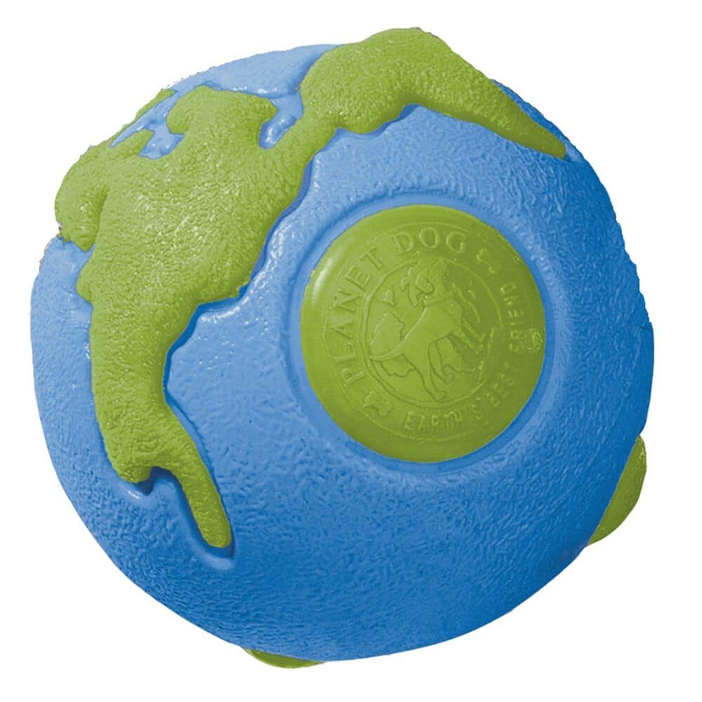 Planet Dog - Toy Orbee Tuff Ball Bl /Grn Sm