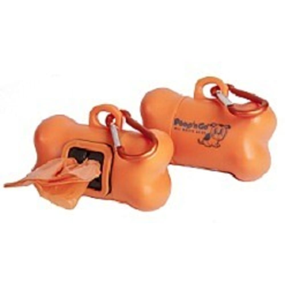 GoGo - Poop N Go Dispenser Orange, 2Pk