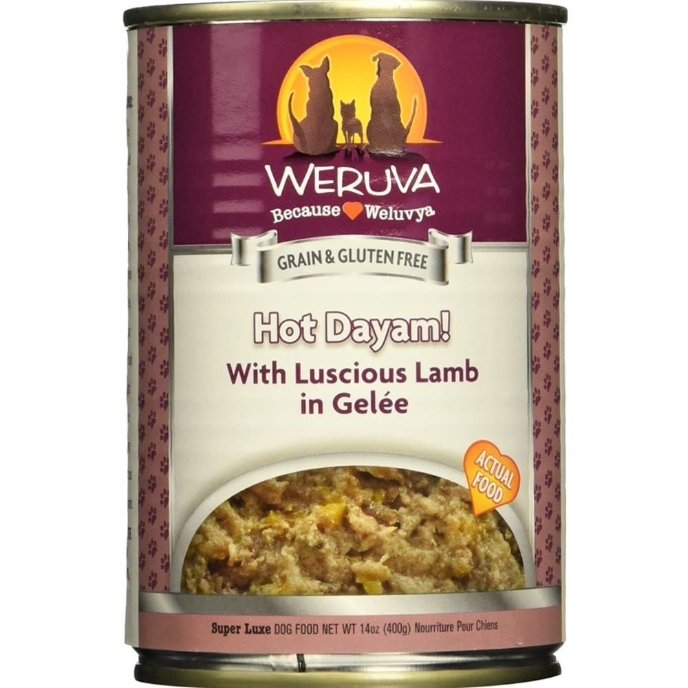 Weruva - Hot Dayam Grain-Free Canned Dog Food