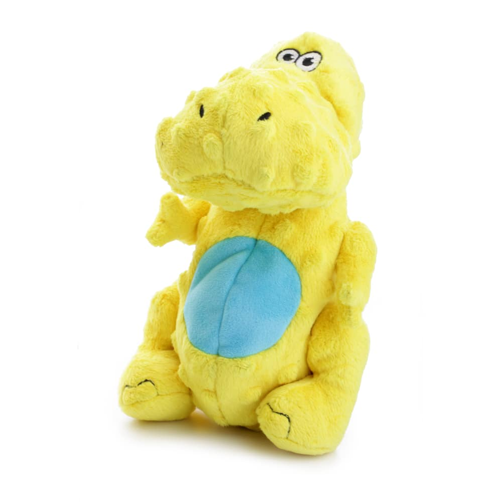 GoDog - Dinos T-Rex Plush Toy - Yellow