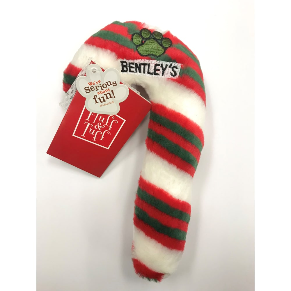 Fluff & Tuff - Holiday Candy Cane, Large