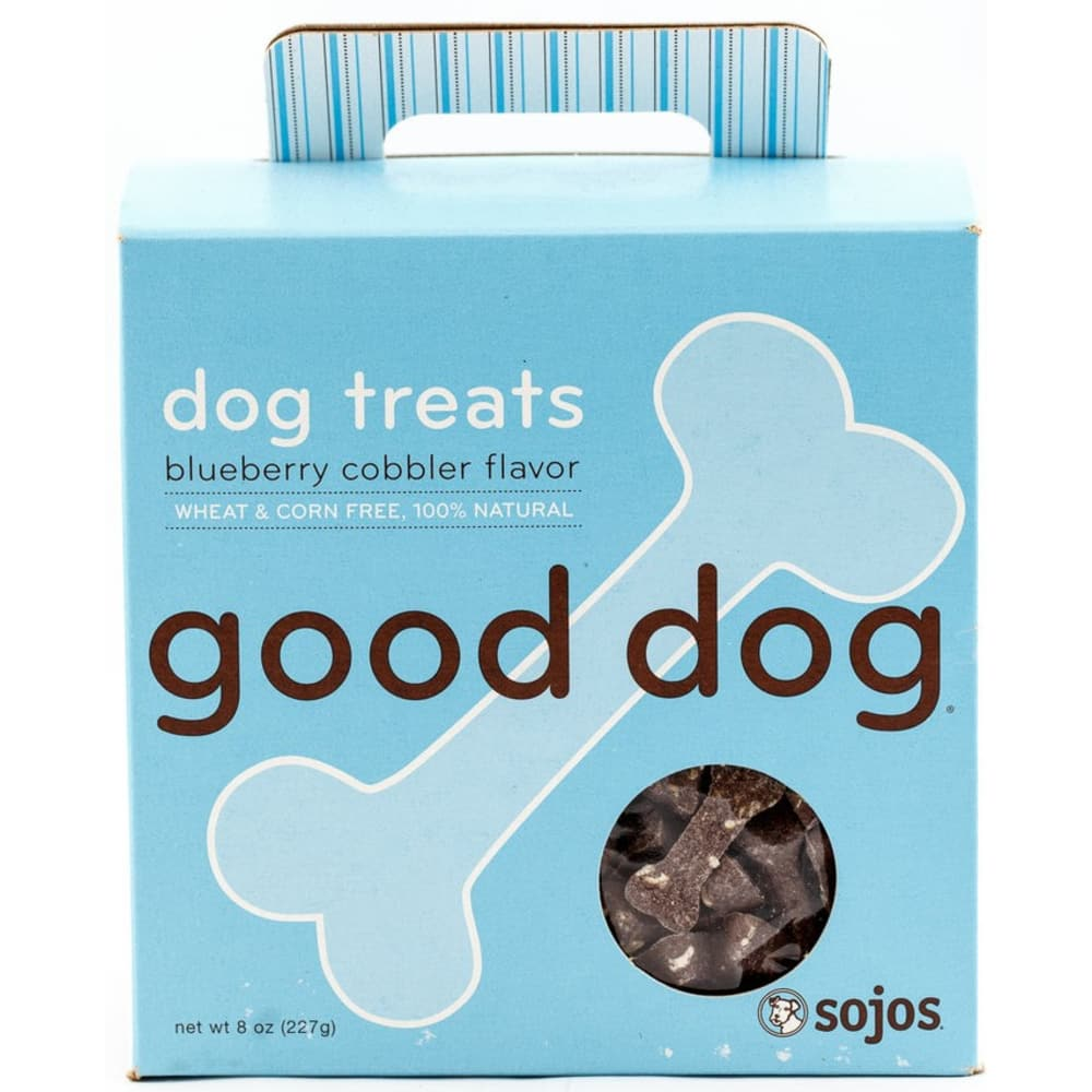 Sojos - Good Dog Blueberry Cobbler Dog Treats, 8oz