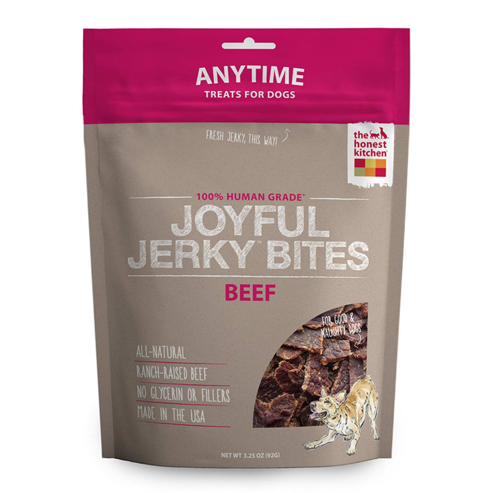 The Honest Kitchen - Jerky Bites Beef, 3.25oz