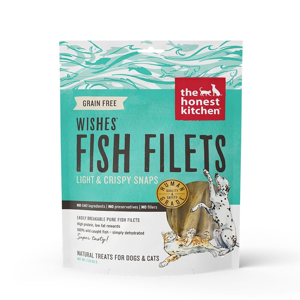 Honest Kitchen - Wishes Filets Pure White Fish Treats