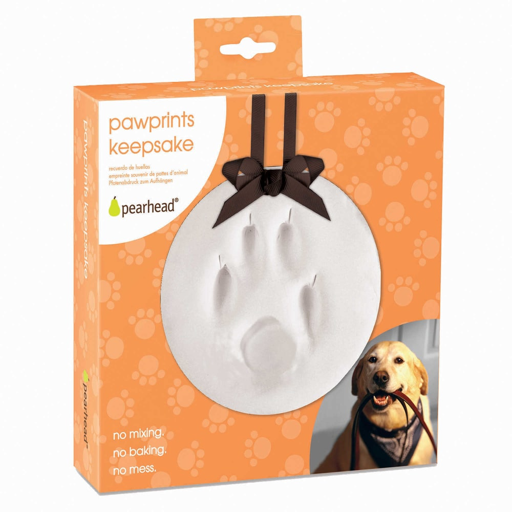 Pearhead - Paw Prints DIY Hanging Keepsake, 6""