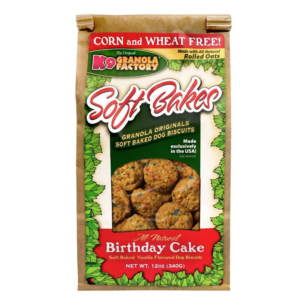K9 Granola - Softbakes Birthday Cake, 12oz