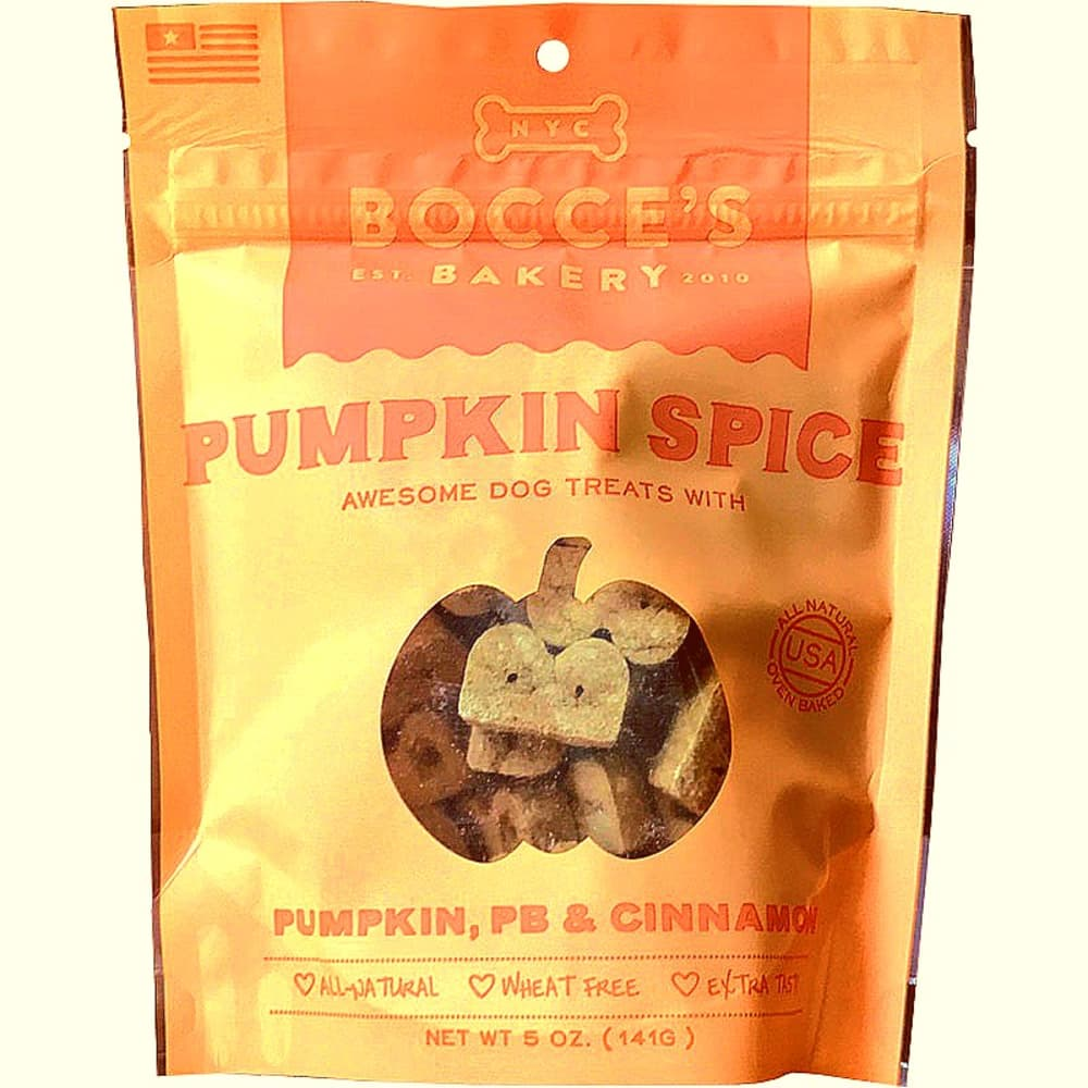 Bocce's Bakery - Pumpkin Spice Biscuits, 5oz