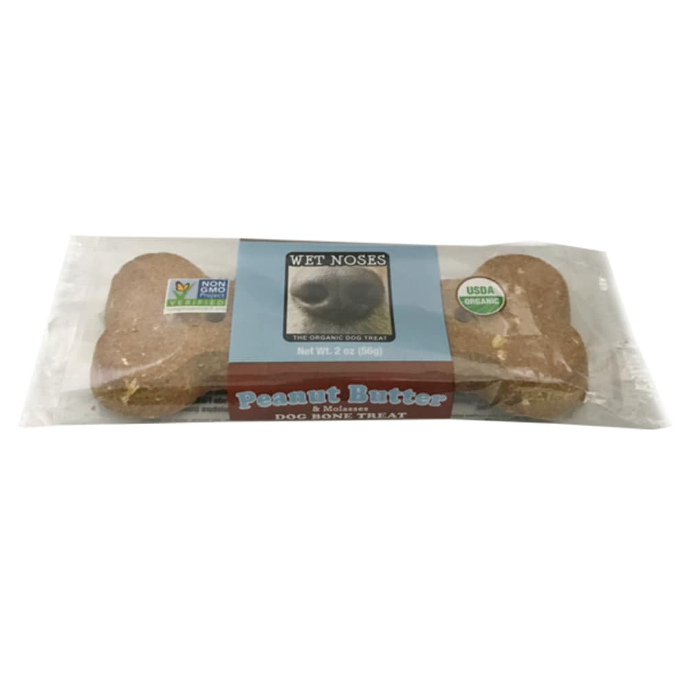 Wet Noses - Peanut Butter & Molasses Bone 2.4oz