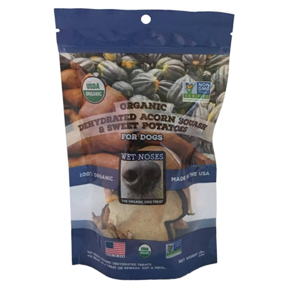 Wet Noses - Organic Dehydrated Acorn Squash & Sweet Potato Chews