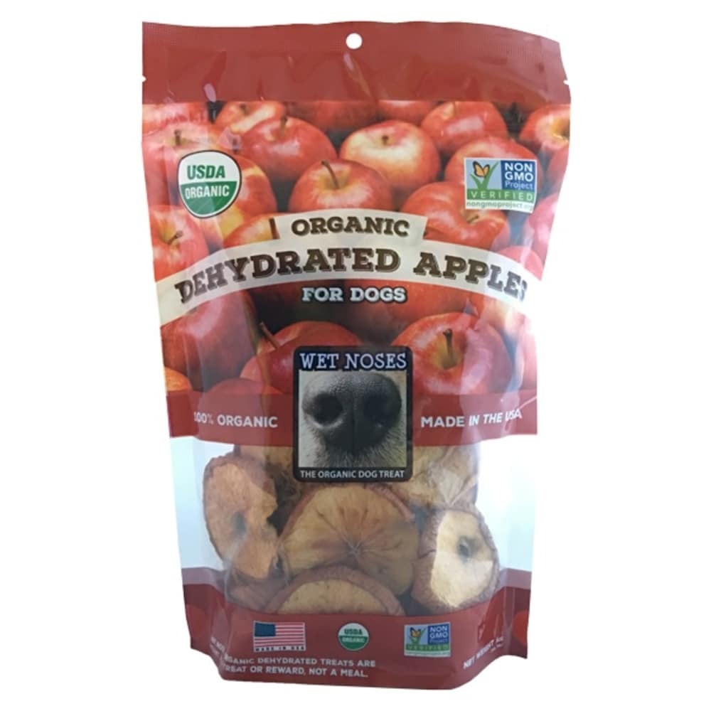 Wet Noses - Organic Dehydrated Apple Round Slices