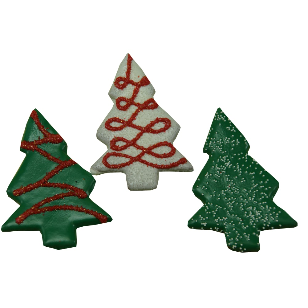 Puppy - Christmas Tree Cookie Assorted Colors