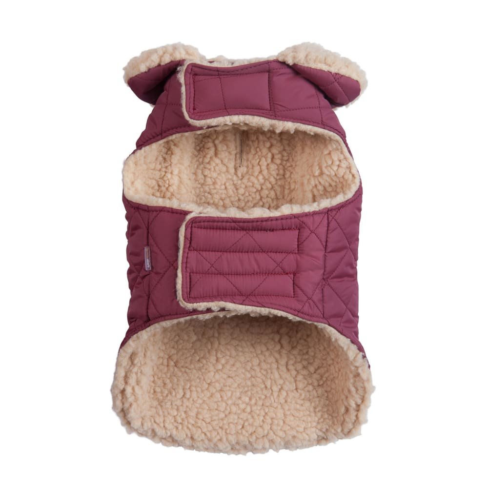 Fab Dog - Quilted Shearling Dog Coat
