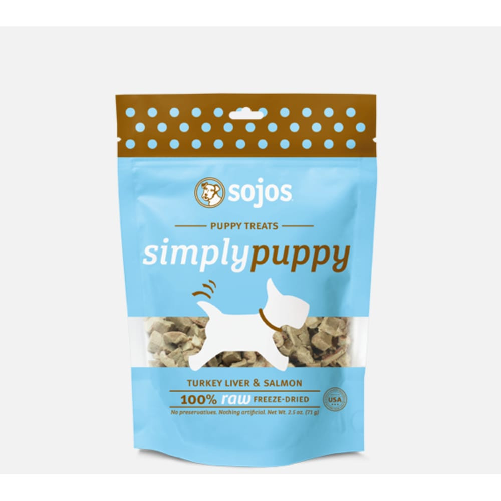 Sojos - Puppy Turkey & Salmon Treat, 2.5oz