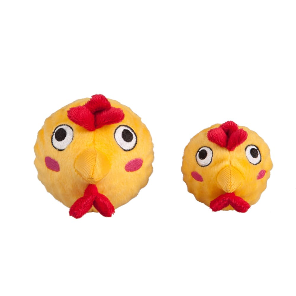 Fab Dog - Chicken Faball Squeaky Dog Toy