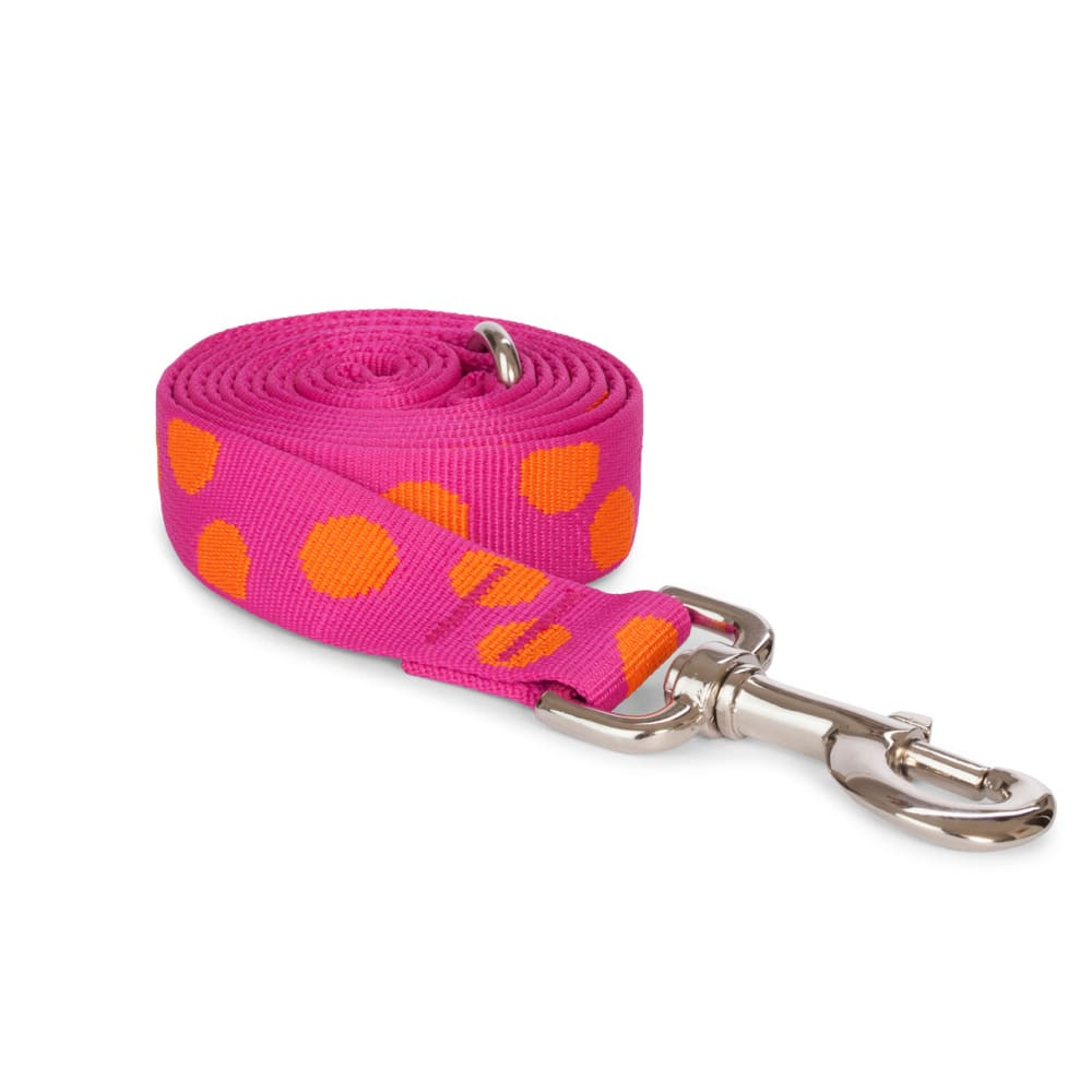 Fab Dog - Polka Dot Dog Lead Pink
