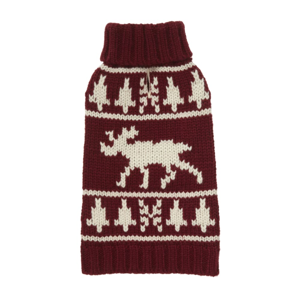 Fab Dog - Classic Moose Dog Sweater
