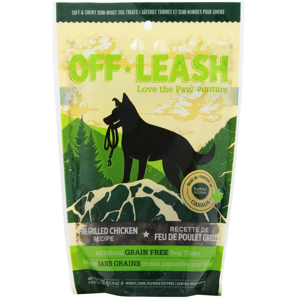Complete Natural Nutrition - Off Leash Treats, Fire Grilled Chicken, 5.29oz