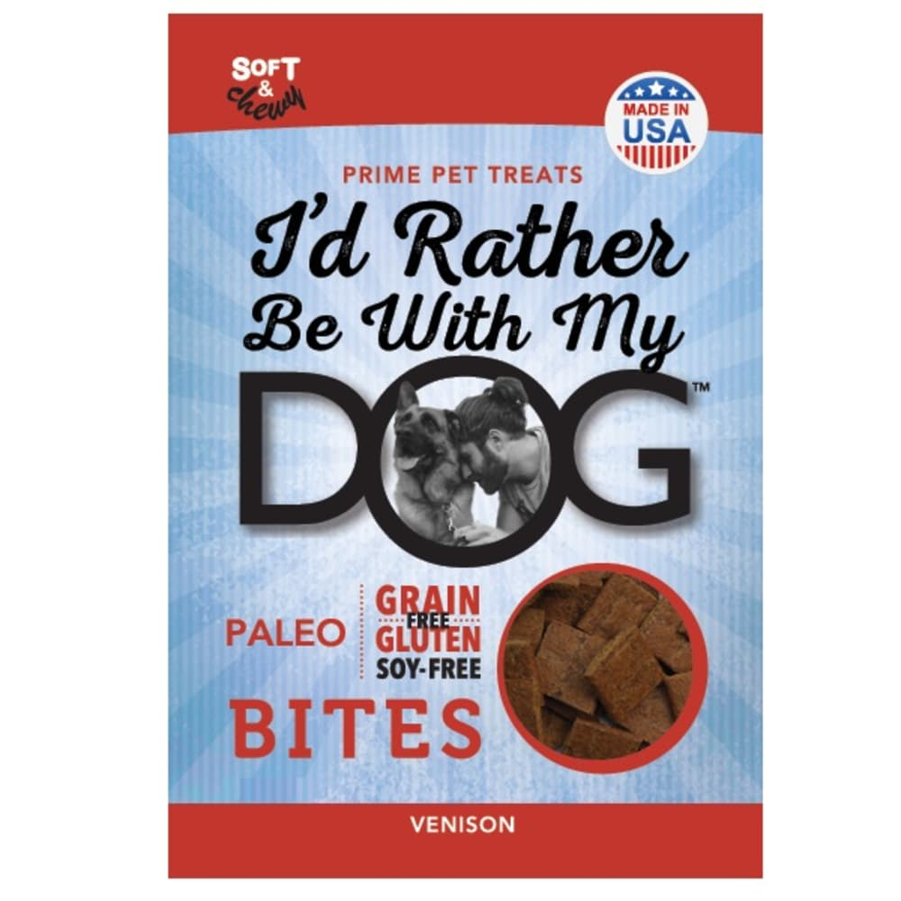 I'd Rather Be With My Dog - Paleo Bites Venison