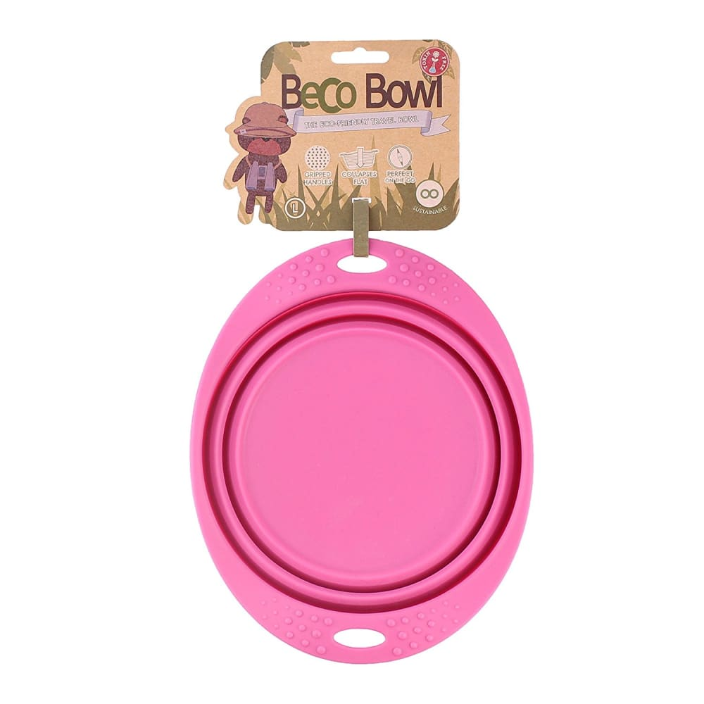 Beco - Travel Bowl Pink