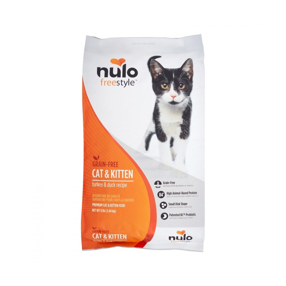 Nulo - FreeStyle Cat & Kitten Turkey & Duck Grain-Free Dry Cat Food
