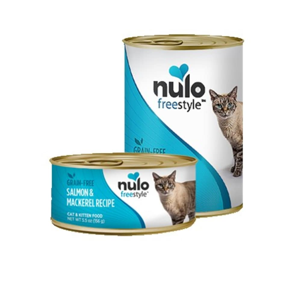 Nulo - FreeStyle Salmon & Mackerel Pate Grain-Free Canned Cat Food