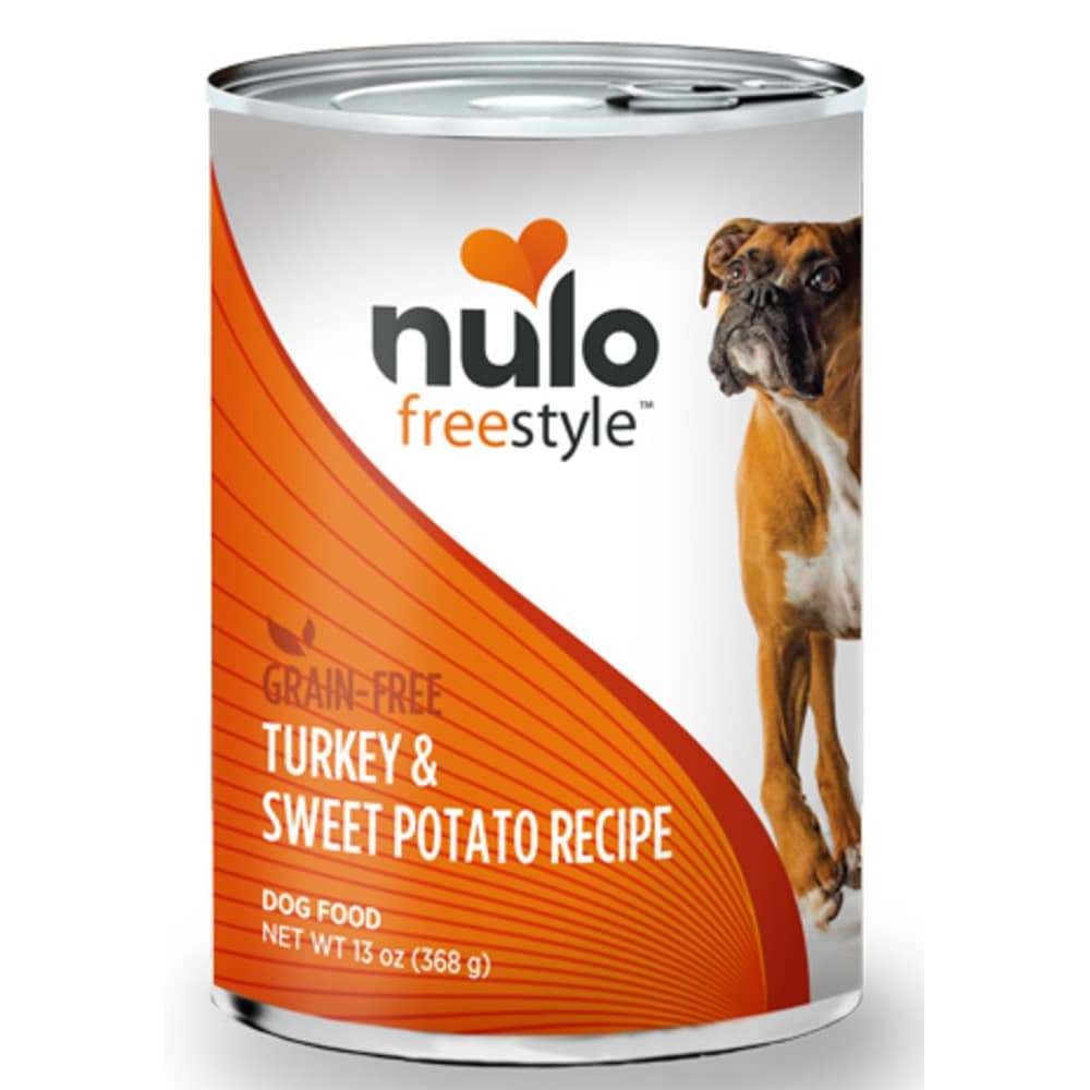 Nulo - FreeStyle Turkey & Sweet Potato Grain-Free Canned Dog Food, 13oz