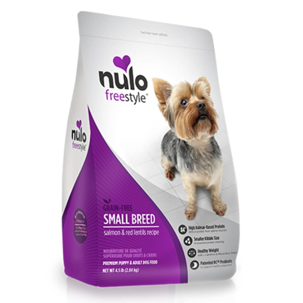 Nulo - FreeStyle Sm Breed Dog Salmon & Red Lentils Grain-Free Dry Dog Food
