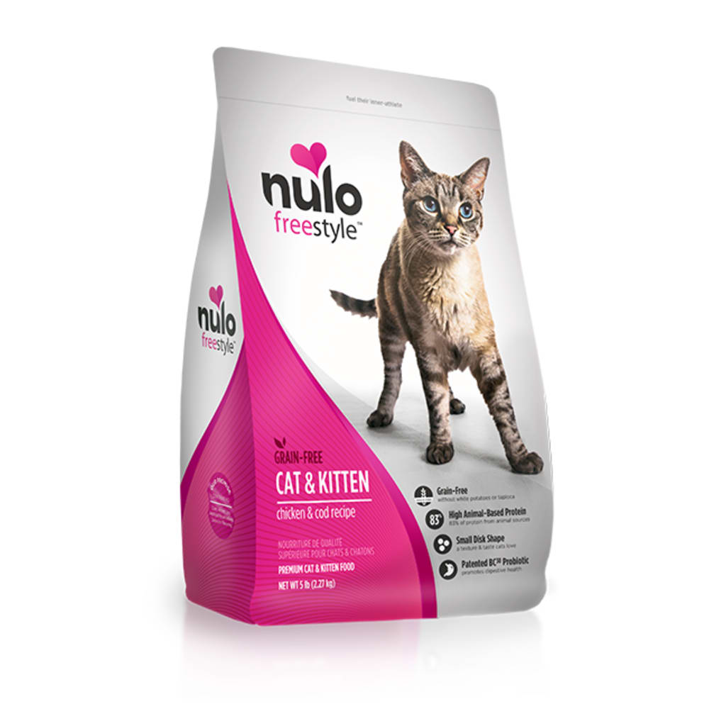 Nulo - FreeStyle Cat & Kitten Chicken & Cod Grain-Free Dry Cat Food