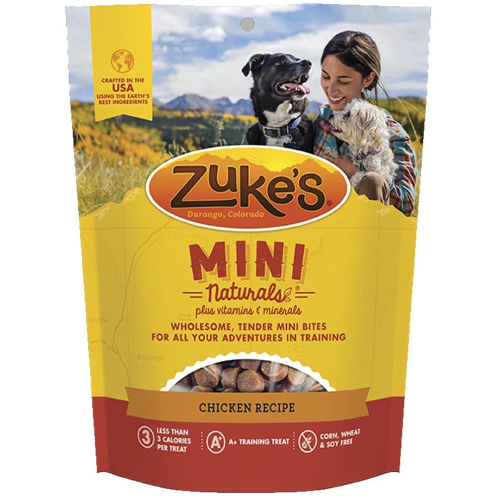 Zuke's - Mini Naturals Roasted Chicken Recipe Dog Treat